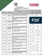 Proyectos 6PITEI Resultados Finales SEGUNDO CORTE 08.05.2017