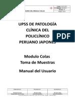 M-SIS-01 Manual de Usuario Del Modulo Colas