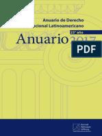 Anuario de Derecho Constitucional Latinoamericano 2017