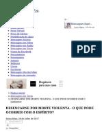 Mensagem - DESENCARNE POR MORTE VIOLENTA - O QUE PODE OCORRER COM O ESPÍRITO_.pdf