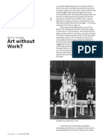 ART WITHOUT WORK