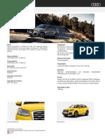 AUDI Q2 2.0 TFSI 190HP Quattro
