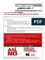 Nº8 - Descuelgue salarial