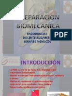 Técnicas de Preparación Biomecanica