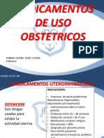 Medicamentos Uso Obstetrico