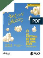 Programación del Festival de Cine de Lima, 2018
