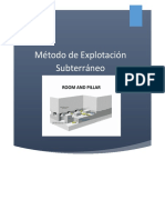 Room and Pillar Informe