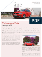 Volkswagen 1.2 TSI Polo Review