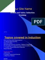 1. H&S Induction Training Presentation