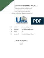 Ejercicos de LP1 - Resueltos