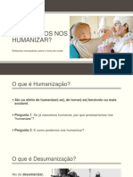 Palestra Seara Humanização