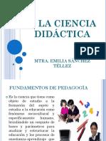 2. La Ciencia Didáctica(1)