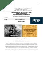 GUIA RELIGION 9° IV PERIODO 2015