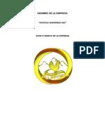 Nombre de La Empresa Mof Rof Plan Operacional