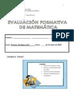 Evaluacion Formativa Matematica Unidad 6
