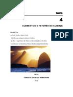 AULAS DE CLIMATOLOGIA