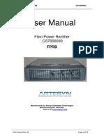 FPRB User Manual Rev AH