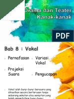 Bab 8  Vokal