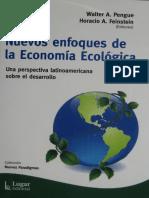 NUEVOS ENFOQUES DE LA ECONOMIA ECOLOGICA