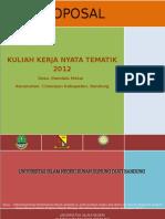 113207446 Proposal KKN Tematik Kel 10