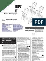 Manual de esprayadora Wagner 9195
