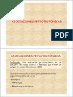 Resumen de Asociaciones Petrotectonicas