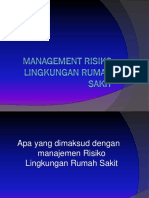 Management Risiko Lingkungan Rumah Sakit