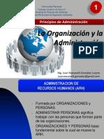 01 La Organizacion y La Empresa