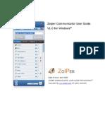 Zoiper Communicator Manual