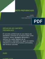 CONCRETO PREFABRICADO
