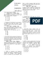 Cálculo Estequiométrico(Exercício 2)