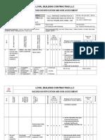 RA-LBC-007 Risk Assessment Concrete Works