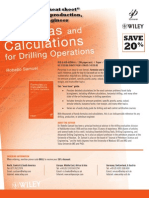 Formulas and Calculations for Drilling Operations by Robello Samuel - Discount Flyer