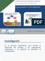 Segunda Sesión - Conducta Responsable en Investigacion