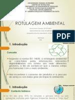 g. Ambiental- Av 2-Rotulagem Ambiental