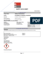 SDS 4 Methyl 5 Thiazoleethanol (Fisher Scientific)
