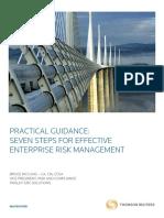 Seven Steps to Enterprise Risk Management