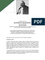 CARTA ENCÍCLICA MATER ET MAGISTRA.doc