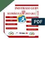 Administrasi Guru Kurikulum 2013 SD Format Excel Dapodik13