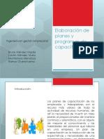 Formato Para Elaborar Un Programa de Capacitación