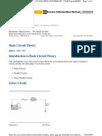 Teoria de Los Circuitos Basicos