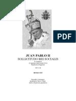 Carta Encíclica Sollicitudo Rei Socialis