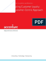 Accenture Creating Customer Loyalty a Customer Centric Approach