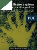 Homo Sapiens Evolucion trabajo y aprendizaje - Hacia un Fundamento Antropologico - Flores y Vera.pdf