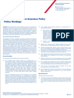 17. Machinery Breakdown - Policy Wordings.pdf