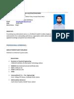 Ahmad Tariq CV