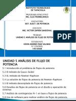 Unidad 5 Analisis de Flujos de Potencia