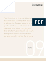 Nestle Financial Report 09
