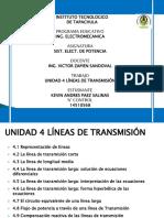 Unidad 4 Líneas de Transmisión