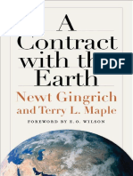 Newt Gingrich, Terry L. Maple a Contract With the Earth